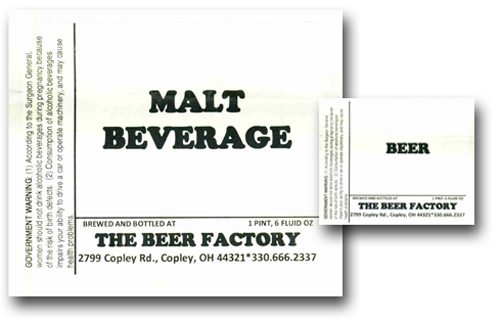 Click for Malt Beverage COLA