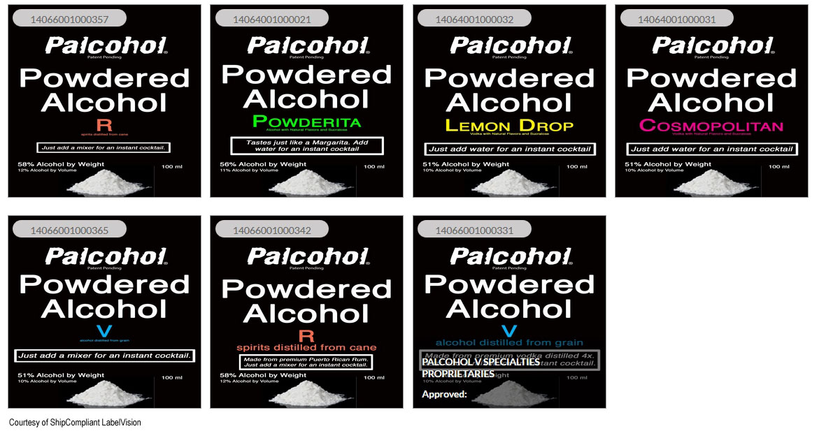 Instant wine powder