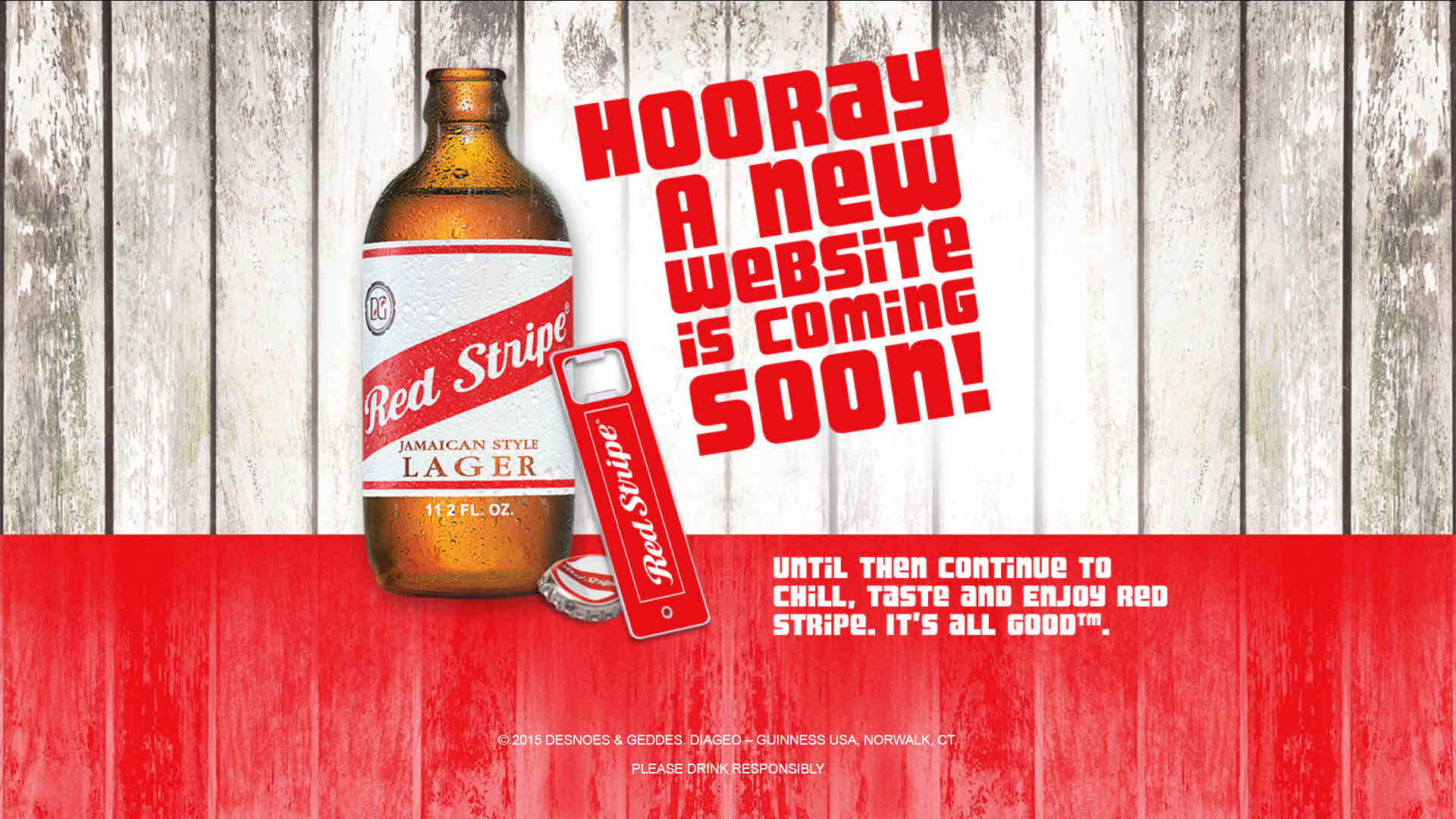 Another Redstripe, Please