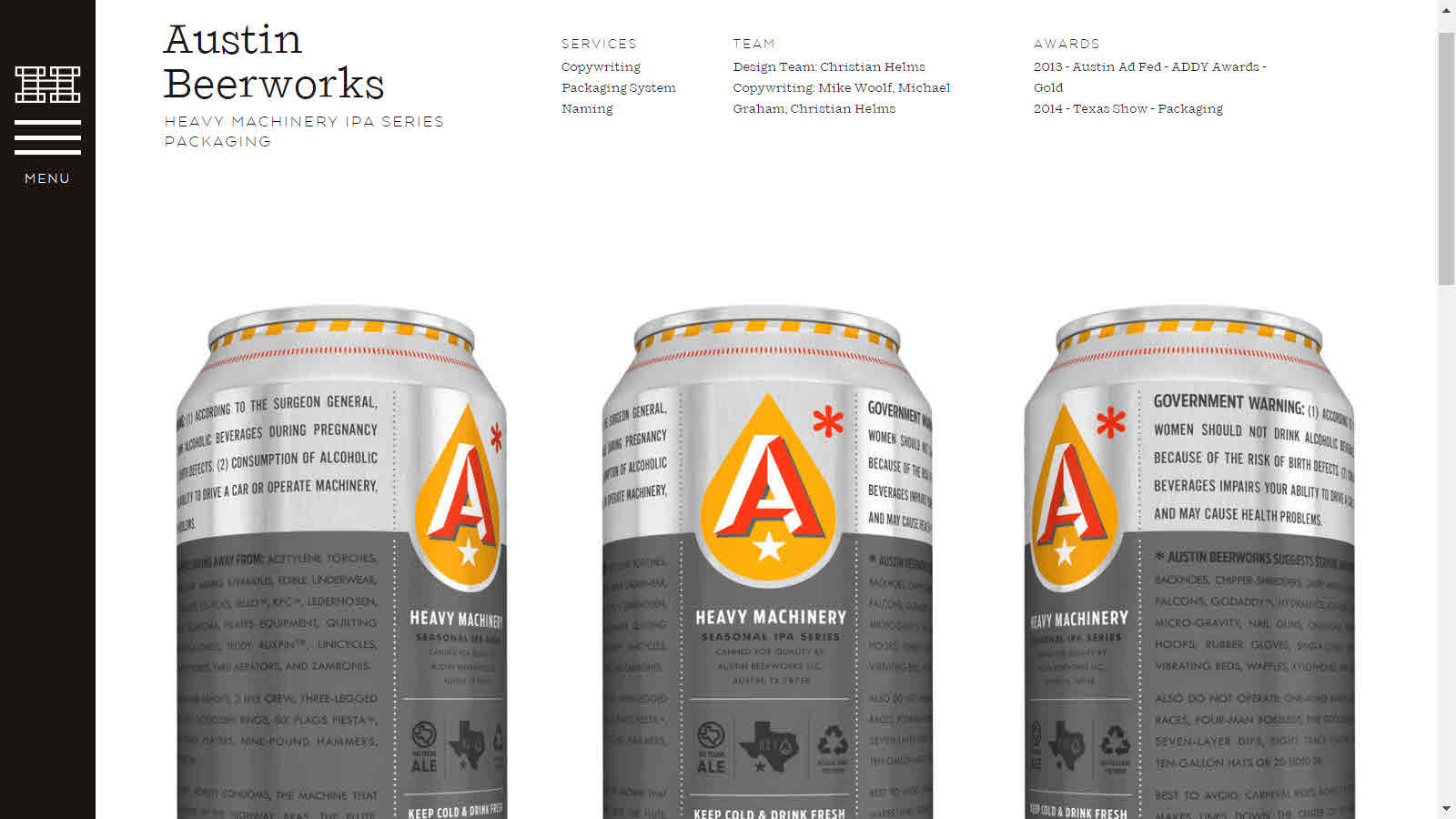 Right there on the label of this beer, almost every part of it, Austin  Beerworks makes it clear that you should proceed with maximum caution.