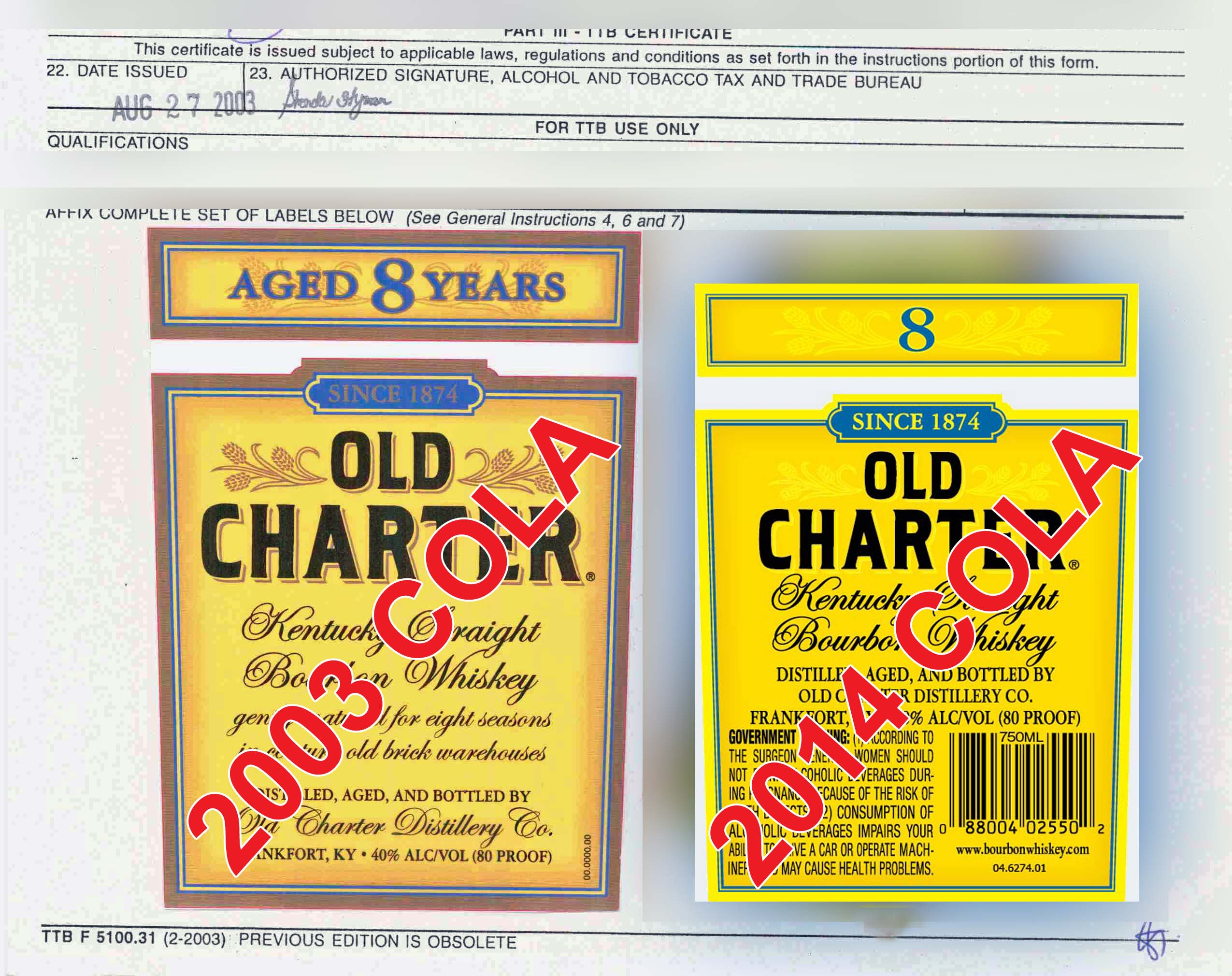 Labels For Unexplained Language >> How Old Is That Old Charter Lehrman Beverage Law